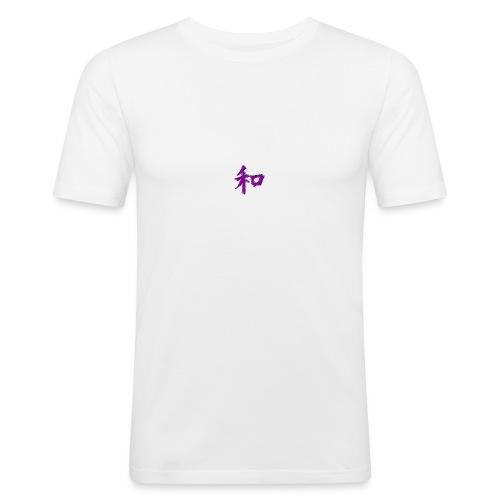 japanesse letter! - T-shirt près du corps Homme