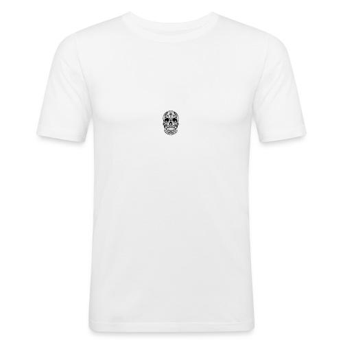 Home Vector Sugar Skull - Mannen slim fit T-shirt