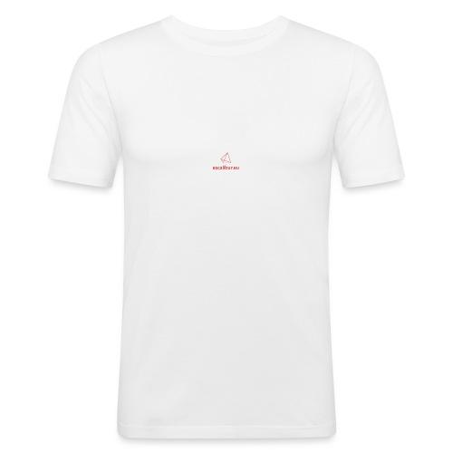 esc_logo - Maglietta aderente da uomo
