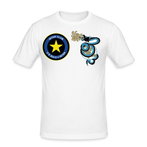 interclub logo01 - Maglietta aderente da uomo