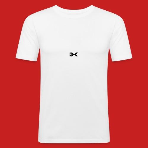 Duxier Logo - Mannen slim fit T-shirt