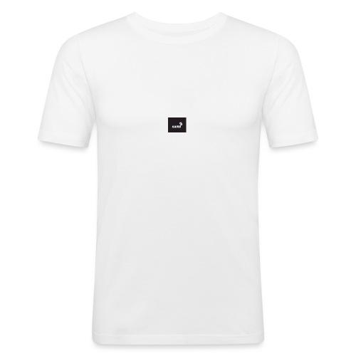 KAMU - Männer Slim Fit T-Shirt