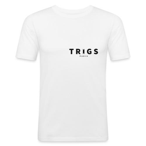 Logo Trigs Paris png - T-shirt près du corps Homme