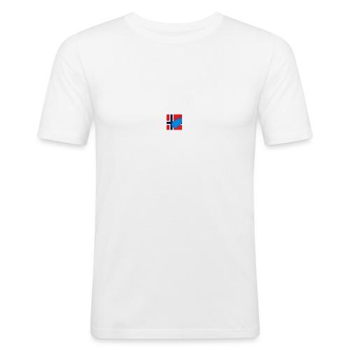 NorPot SAS ACE - Slim Fit T-skjorte for menn