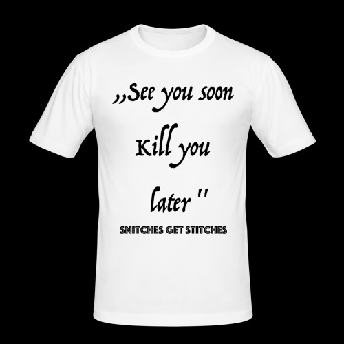 Haters - Männer Slim Fit T-Shirt