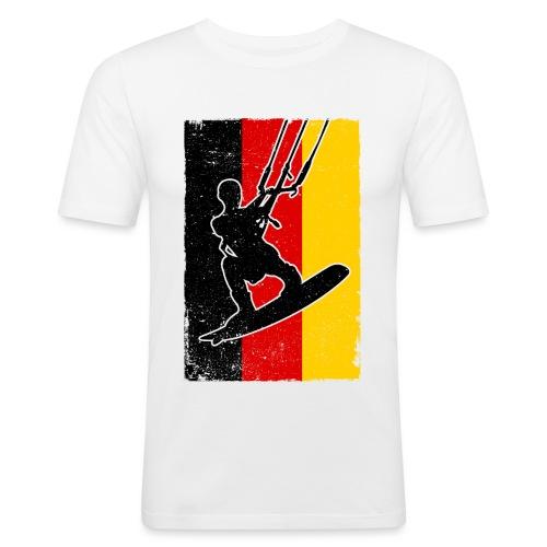 Kitesurfer Germany - Männer Slim Fit T-Shirt