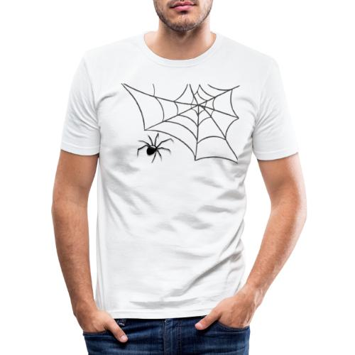 Spider - Slim Fit T-shirt herr