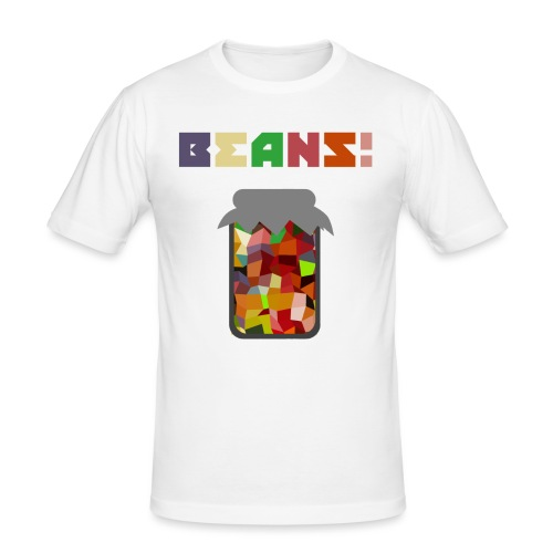 BEANS!!!! - Men's Slim Fit T-Shirt