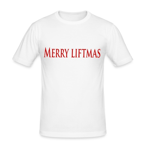 Merry liftmas - Slim Fit T-shirt herr