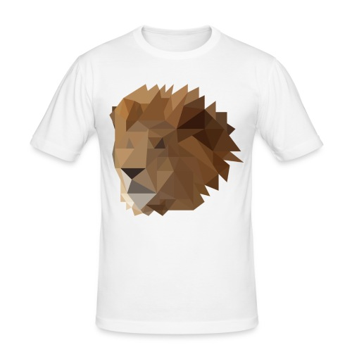 Löwe - Männer Slim Fit T-Shirt