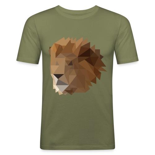 Löwe - Männer Slim Fit T-Shirt