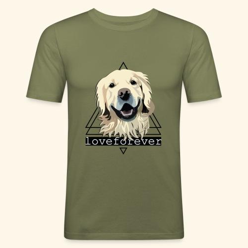 RETRIEVER LOVE FOREVER - Camiseta ajustada hombre