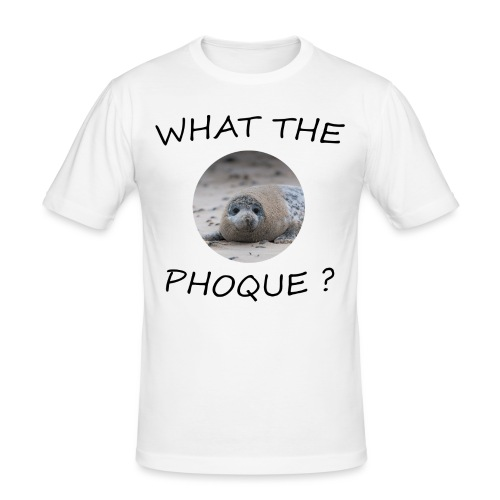 WHAT THE PHOQUE - T-shirt près du corps Homme