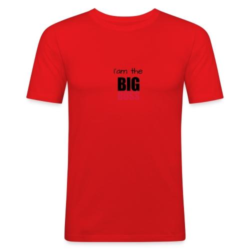 I am the big boss - T-shirt près du corps Homme