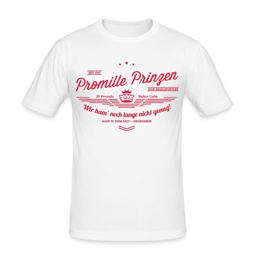 Made in Dinslaken - Männer Slim Fit T-Shirt