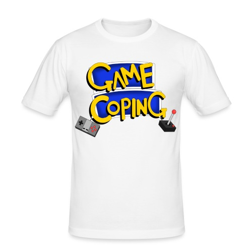 Game Coping Logo - Men's Slim Fit T-Shirt