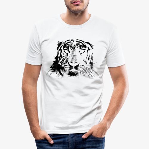BLACK TIGER - Camiseta ajustada hombre