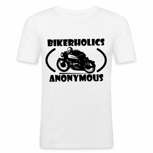 Bikerholics Anonymous - Men's Slim Fit T-Shirt