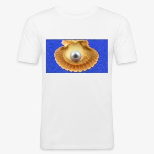 Mossel - Mannen slim fit T-shirt