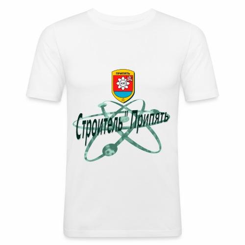FC STROITEL PRIPYAT - Mannen slim fit T-shirt