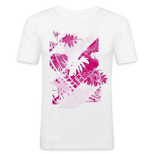 Jungle Fever Print - Maglietta aderente da uomo