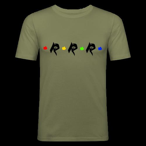 RRR - rainbow. - Männer Slim Fit T-Shirt