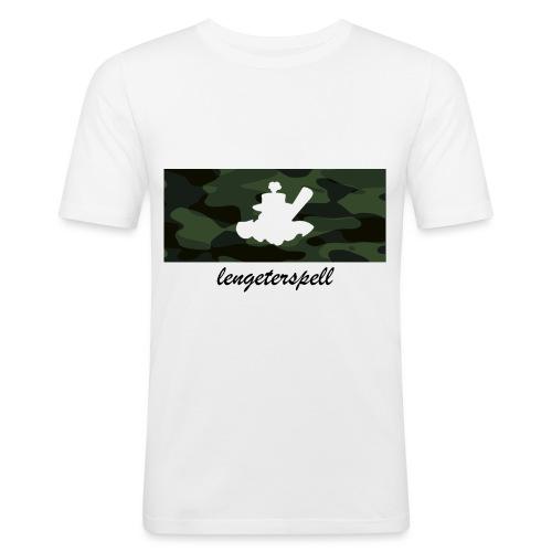 Camouflage - Männer Slim Fit T-Shirt