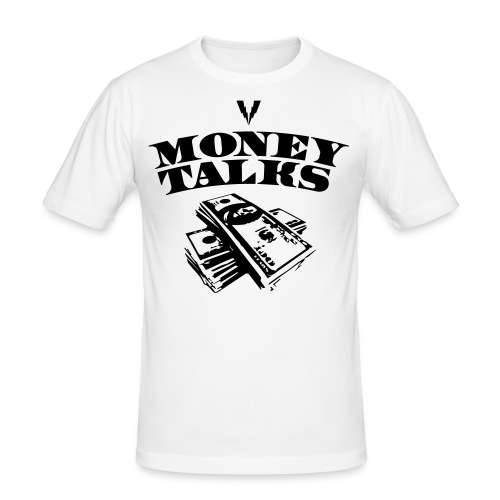 moneytalks - Männer Slim Fit T-Shirt