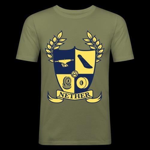 Nether College T-Shirt - Maglietta aderente da uomo