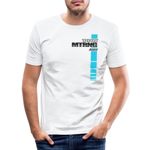 Limited Edition 1 White - Männer Slim Fit T-Shirt