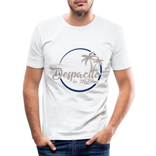 Despacito in Mykonos - T-shirt près du corps Homme