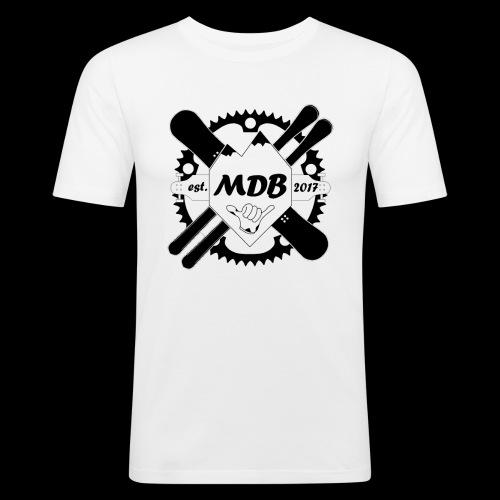 Madabe Logo Shirt - Männer Slim Fit T-Shirt