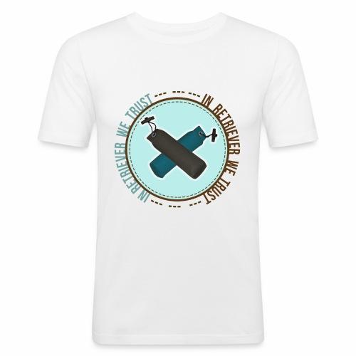 In retriever we trust - T-shirt près du corps Homme