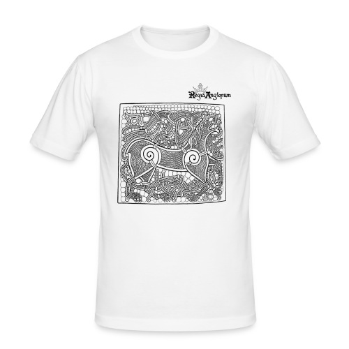 Transparent Beastie - Men's Slim Fit T-Shirt