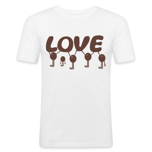 gaukler love - Men's Slim Fit T-Shirt