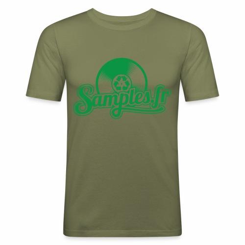 Samples.fr Vert - T-shirt près du corps Homme