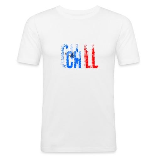 Chill France - T-shirt près du corps Homme