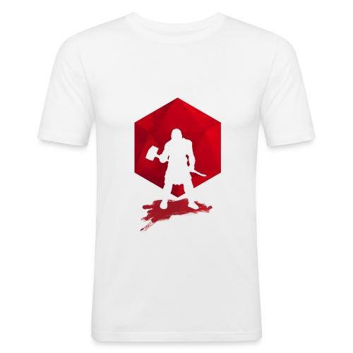 Brutal Barbarian - Dungeons and Dragons dnd d20 - Miesten tyköistuva t-paita