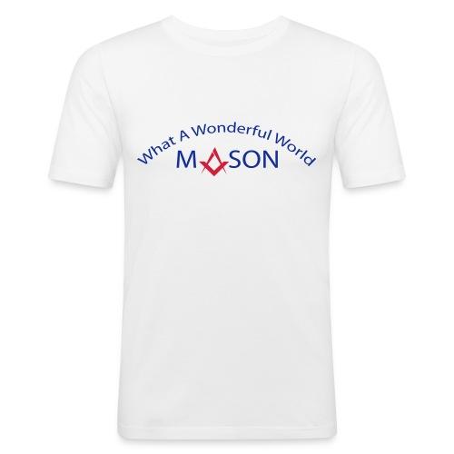 Mason wonderfull nature - T-shirt près du corps Homme
