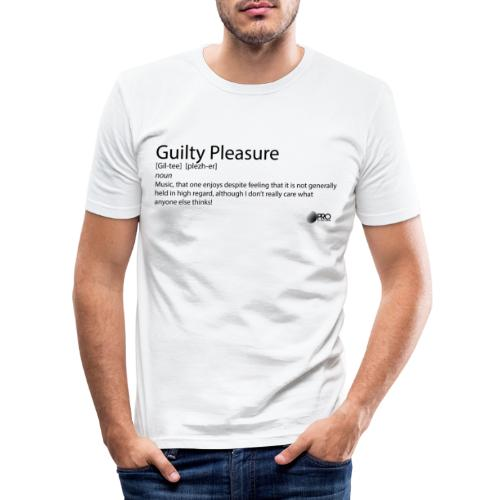 Guilty Pleasure - Men's Slim Fit T-Shirt