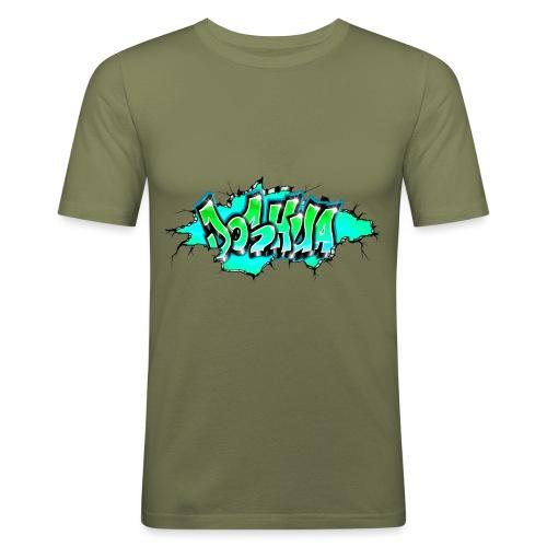 GRAFFITI JOSHUA PRINTABLE WALL BROKE - T-shirt près du corps Homme
