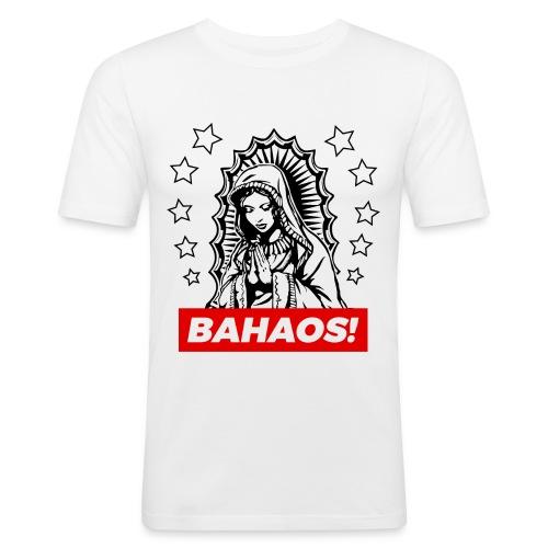 Holy Mary BAHAOS White T-Shirt - Men's Slim Fit T-Shirt