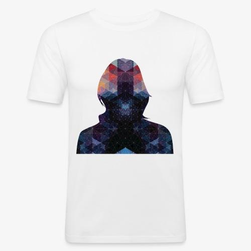 Astro - Obcisła koszulka męska