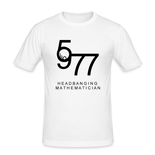 Headbanging Mathematician - T-shirt près du corps Homme