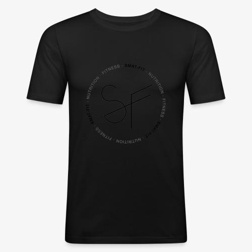 SMAT FIT nutrition & fitness white home - Camiseta ajustada hombre