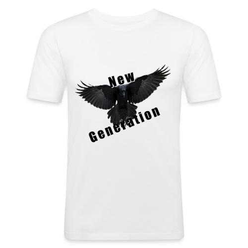 new generation - Mannen slim fit T-shirt