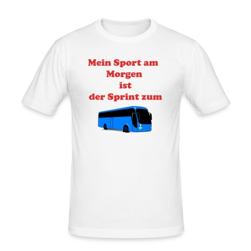 Faultier - Männer Slim Fit T-Shirt