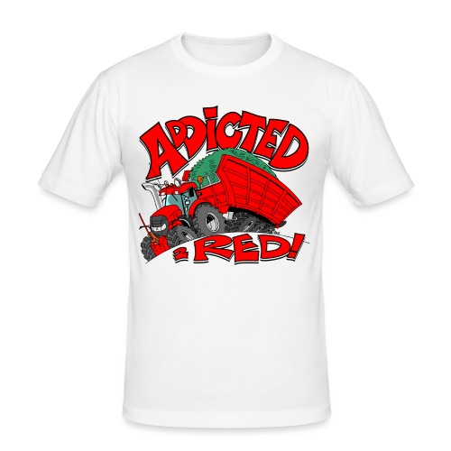 Addicted2RED - slim fit T-shirt