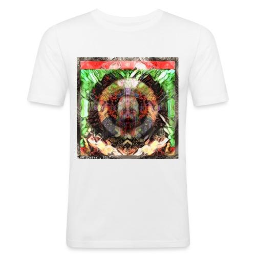 002 - Mannen slim fit T-shirt