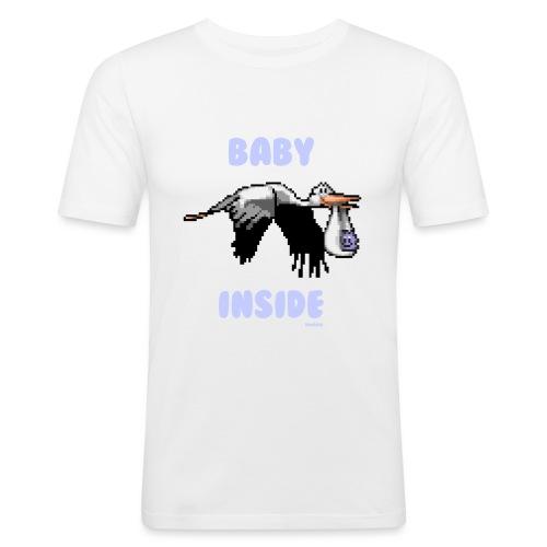 Babyinside - Boy - Männer Slim Fit T-Shirt
